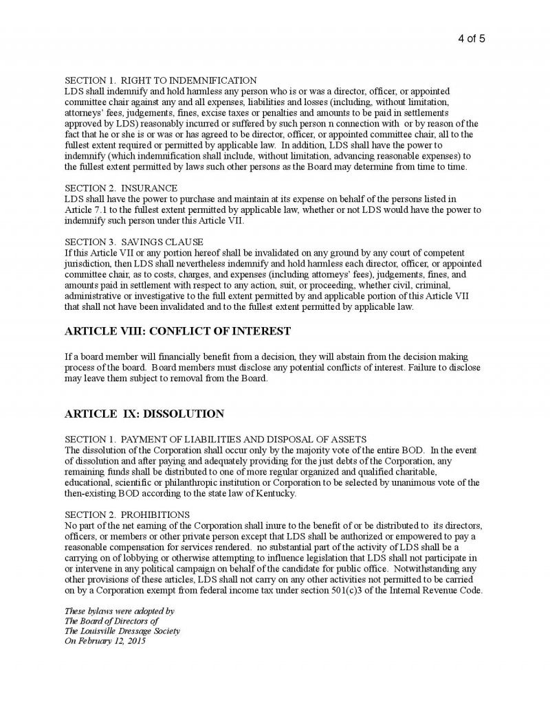 ByLaws Page 4