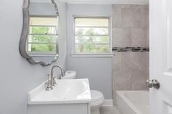 beta bathroom after