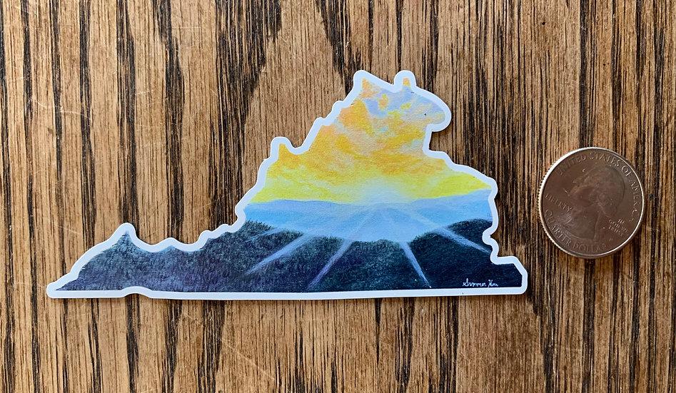Virginia Magnet Sunset