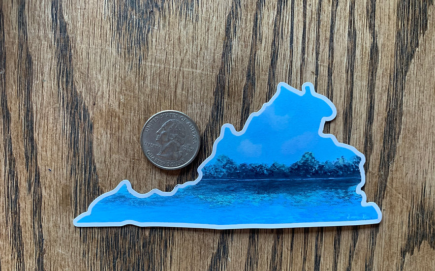VA Lake Magnet