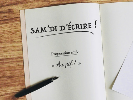 """Sam'di d'écrire"" n° 6"