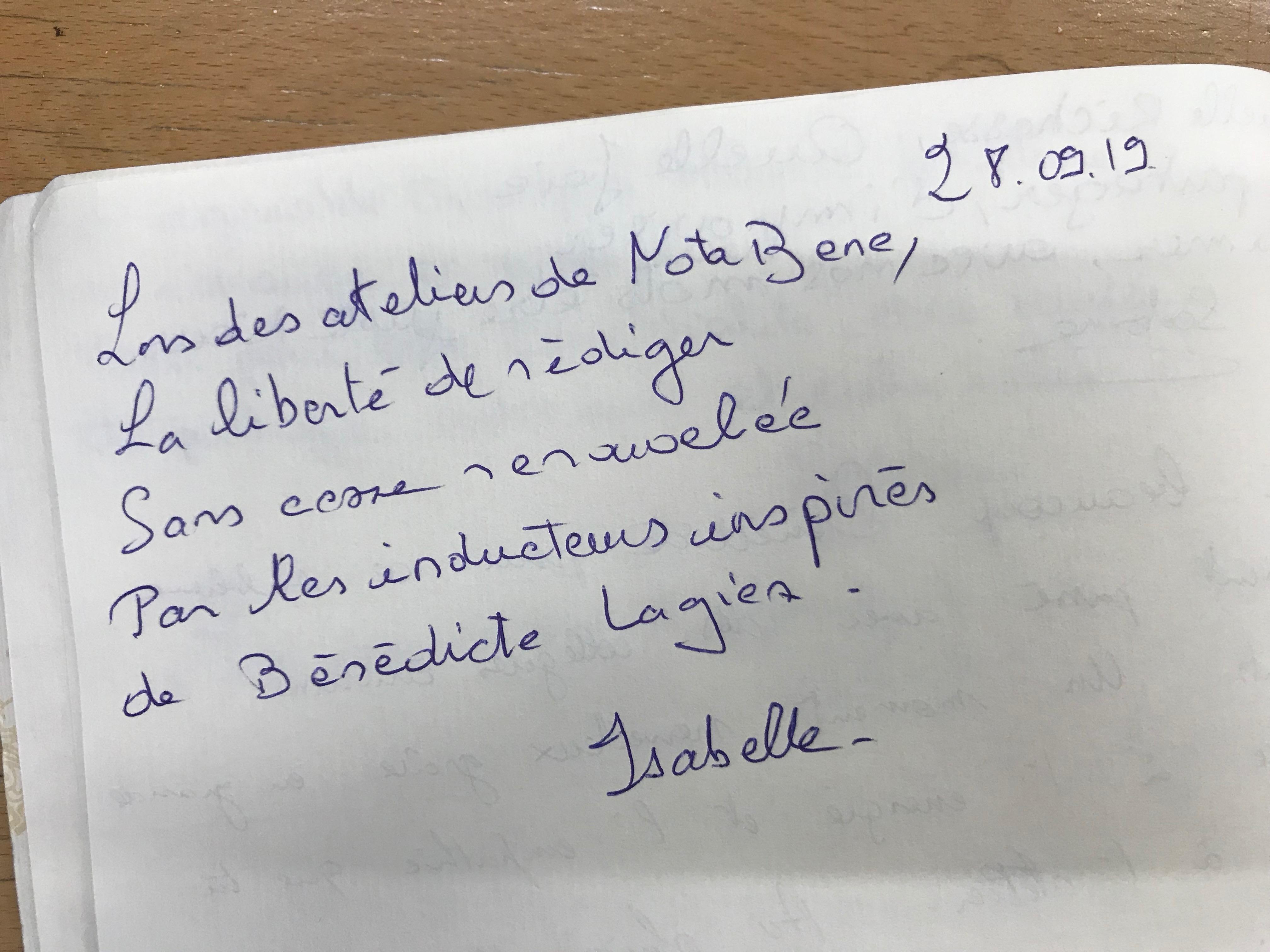Bénédicte Lagier