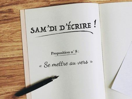 """Sam'di d'écrire"" n° 8"