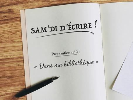"""Sam'di d'écrire"" n° 2"