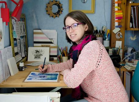 """""""Tous à la page"""" - Illustrateur, un métier haut en couleur"""