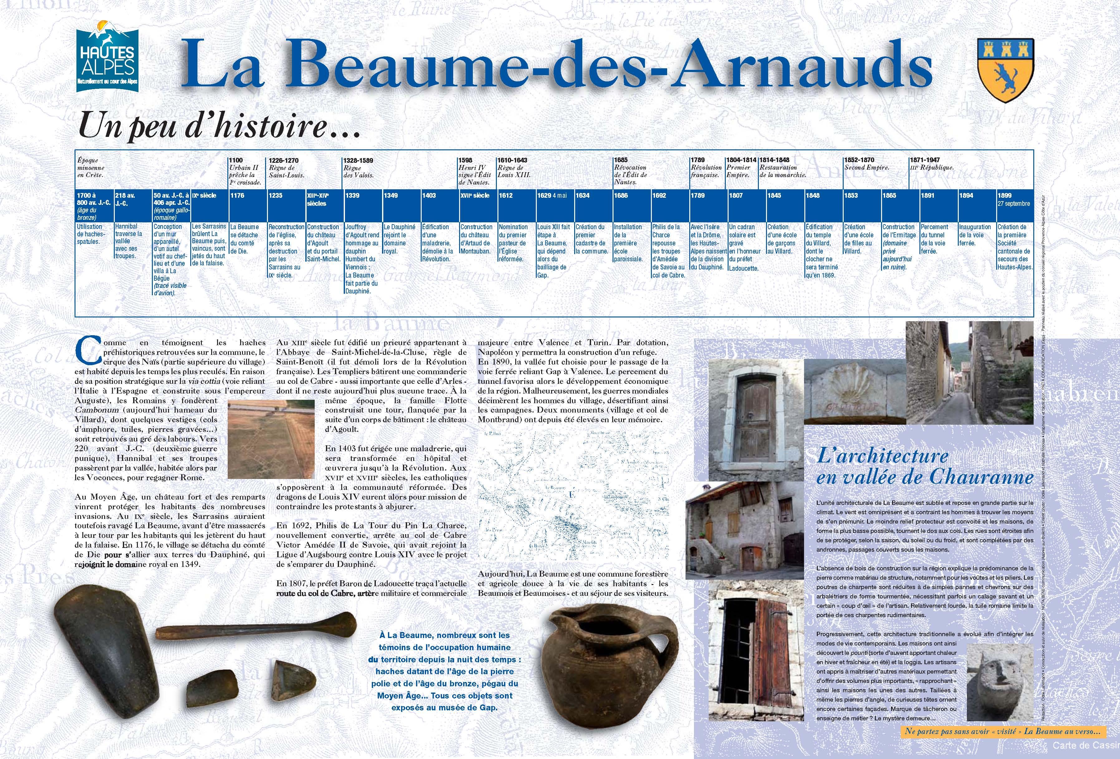 Mairie de La Beaume
