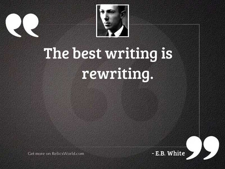 I'm a (Re)Writer!