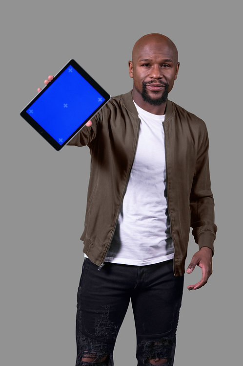 Floyd Mayweather iPad Show