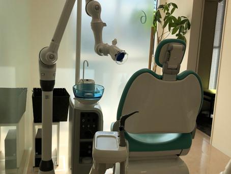 口腔外バキュームが各ユニットに設置されました。