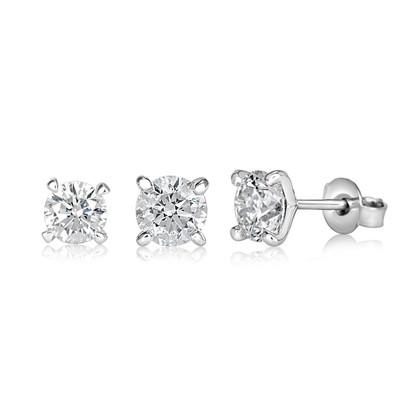 Triplets Earring Diamond