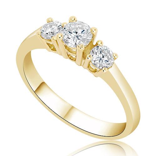 Yellow Mia Ring