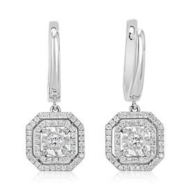 Square Earrings (E432.4)