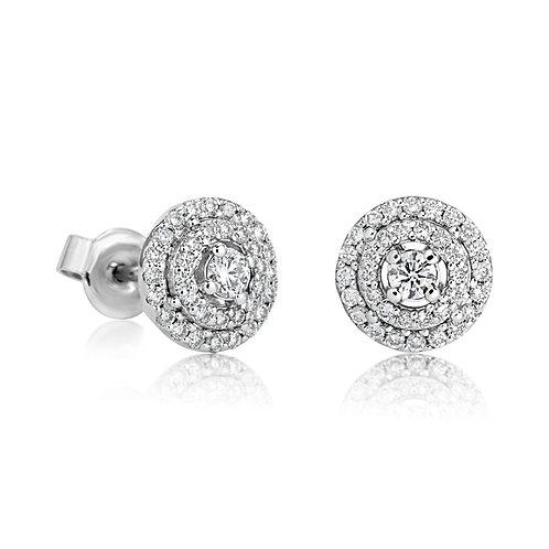 Spiral Earring Diamond