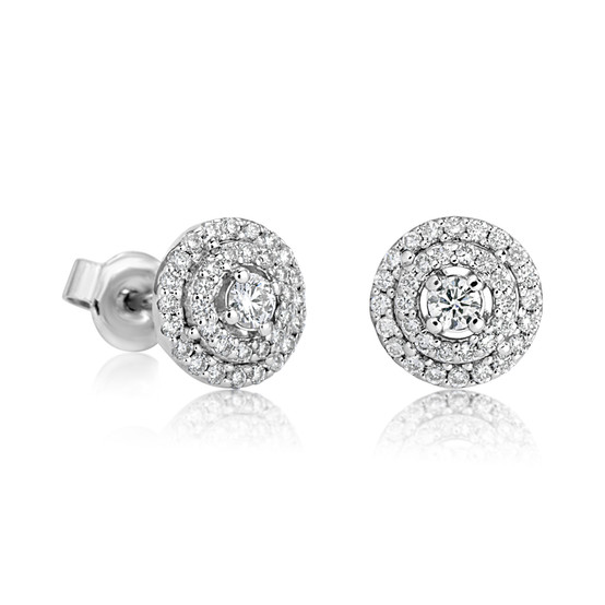 Spiral Earring Diamond (E413.7)