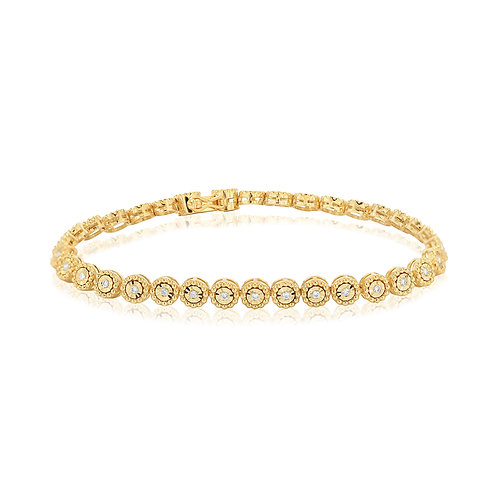 Yellow Beads Tennis Bracelet
