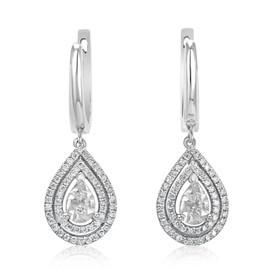 Small Water Drop Earrings (E423.2)