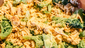 Chicken Broccoli Mac n cheese