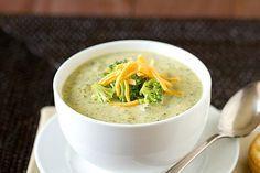 Broccoli Soup Gets a Face Lift!