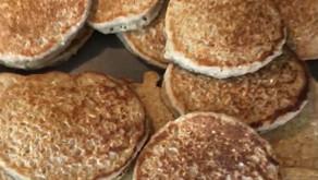 Healthy Oatmeal Pancakes (kid friendly)