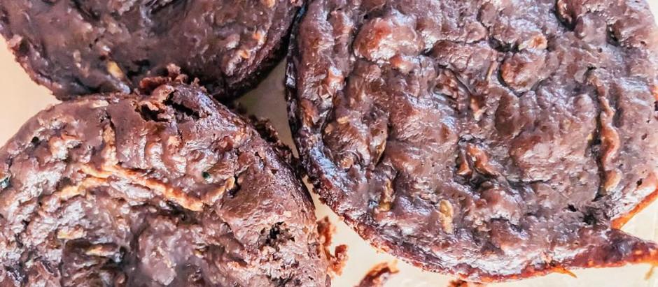 Zucchini Chocolate Muffins (Gluten-free)