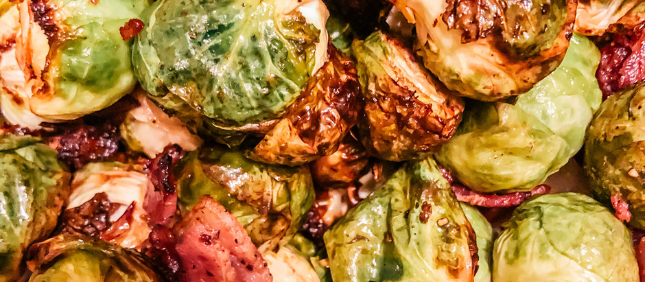 Bacon Brussel Sprouts (Air Fryer)
