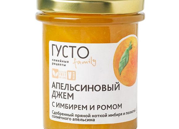Апельсиновый джем с имбирем и ромом