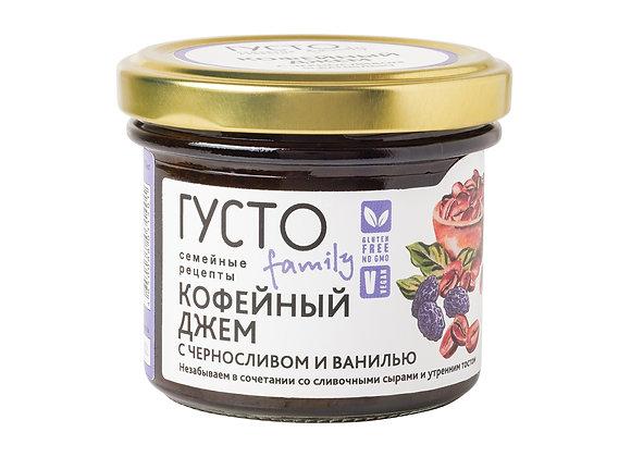 Кофейный джем с черносливом и ванилью