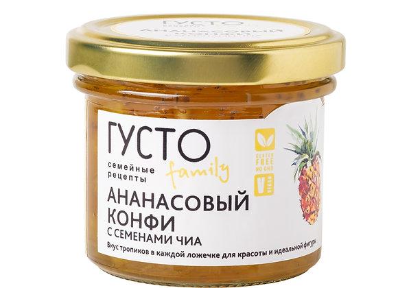 Ананасовый конфи с семенами чиа