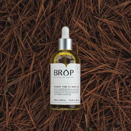 Натурельное масло для тела Brop forest vibe 31 body oil 100мл