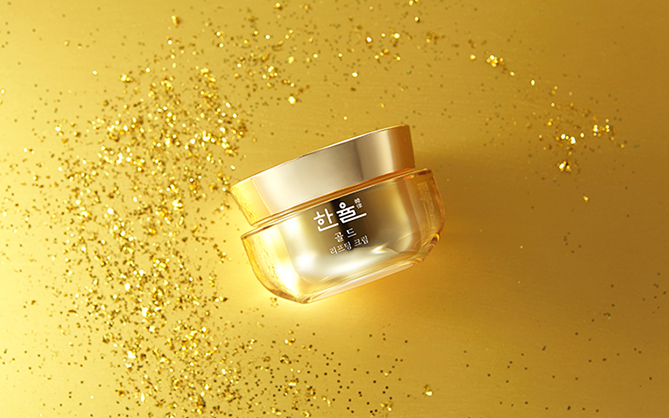 Крем-лифтинг с золотом HANYUL Gold Lifting Cream 60мл