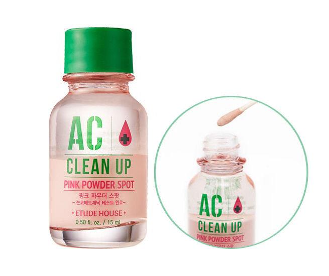 Точечное средство для проблемной кожи AC Clean Up Pink Powder Spot, 15ml