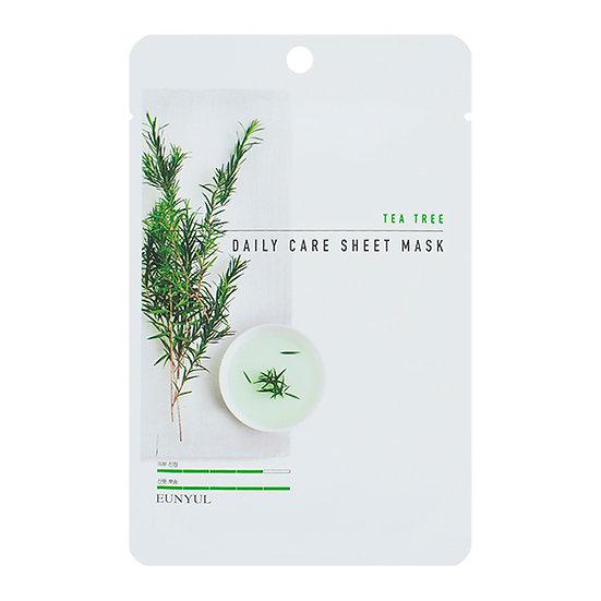 Тканевая маска успакойваюшая с чайным деревом
