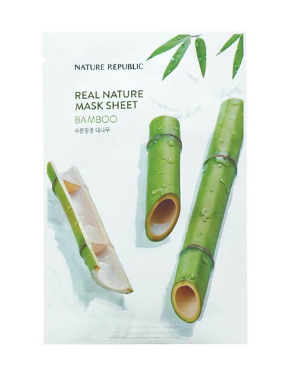 Тканевая маска с экстрактом бамбука NATURE REPUBLIC