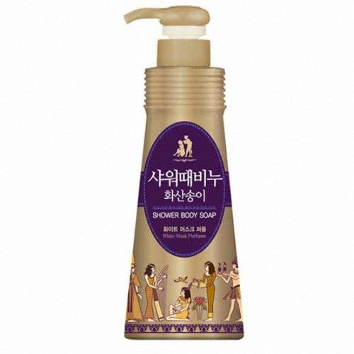 Гель для душа с AHA кислоты с легким пилинговым эффектом Shower Body Soap 900мл