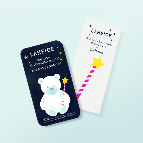 Витаминная ночная маска для интенсивного питания и обновления кожи лица Laneige