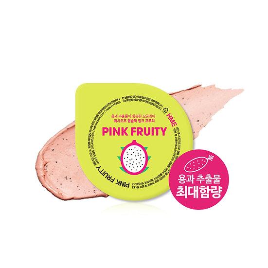 Маска для лица смываемая с экстрактом питахайя HALF MOON EYES PINK FRUITY 10 г