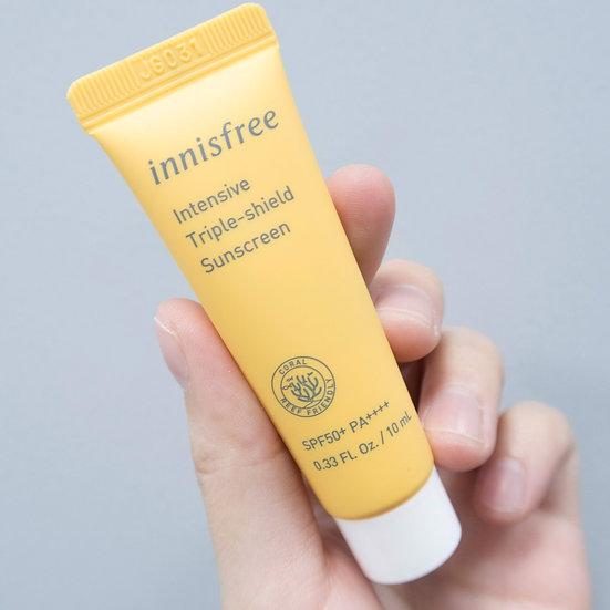 [мини] Солцезащитный крем Triple Shield Sunscreen SPF50+ PA++++ Innisfree 10мл