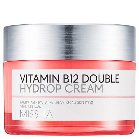 Восстанавливающий крем с витамином В12 MISSHA Vitamin B12 Double Hydrop Cream