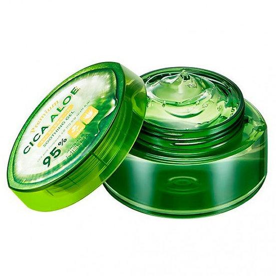 Универсальный гель с алоэ и центеллой Missha Premium Aloe Cica Soothing Gel