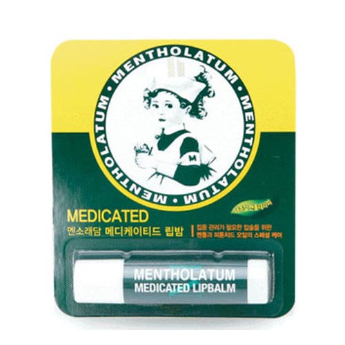 Бальзам для губ Mentholatum Medicated Lip Stick 4.5g