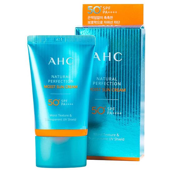 Антивозрастной солнцезащитный крем SPF50+ PA++++ AHC