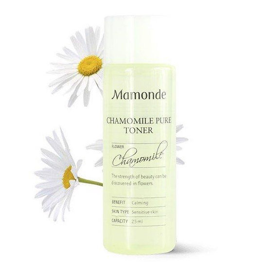 [мини]Тонер для чувствительной кожи Mamonde  Chamomile Pure 25 мл