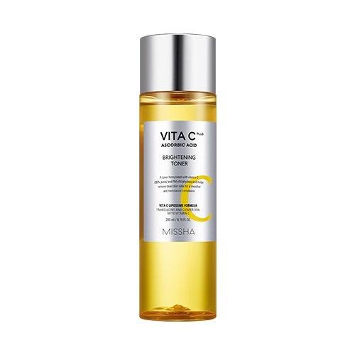 Осветляющий тонер с витамином С  Missha Vita C plus toner 200мл