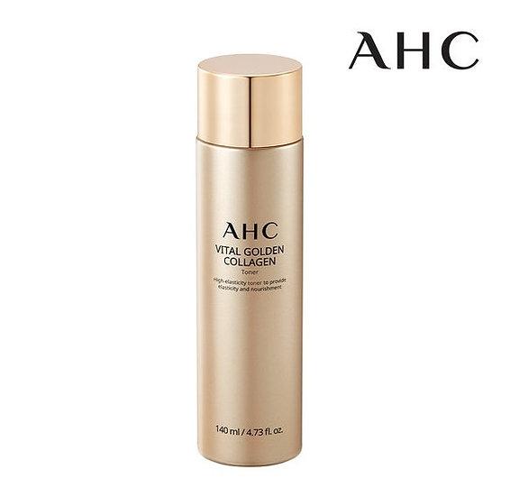 Омоложиваюший лосьон с коллагеном AHC Vital Golden Collagen Toner 140мл