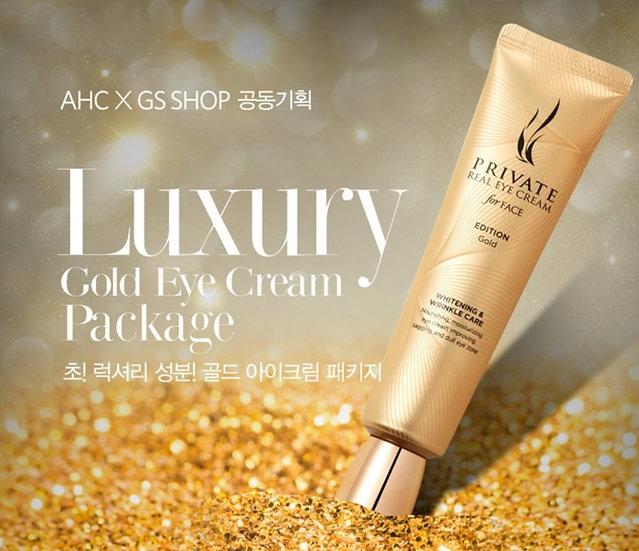 ЭКСКЛЮЗИВ Крем для век с золотомAHC Private real eye cream for face GOLD edition