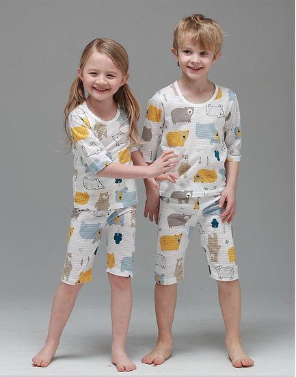 Домашний костюм-пижама из хлопка