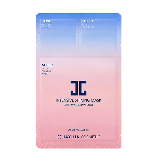Трехступенчатая интенсивна тканевая маска для лица Jayjun intensive shining mask