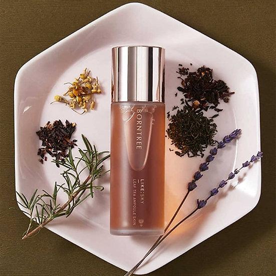 Натуральный тонер 7 видов чая от Borntree Ampoule skin