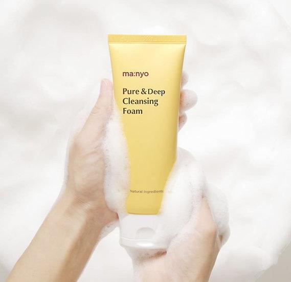 Мягкая пенка для глубокого очищения Pure Deep Cleansing Foam Manyo 100мл