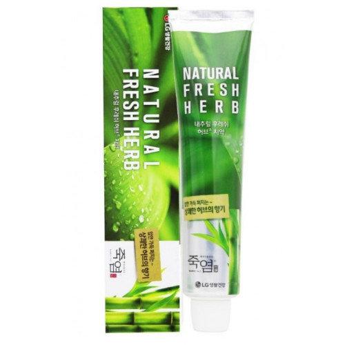 Зубная паста с травяным комплексом и бамбуковой солью LG 130г